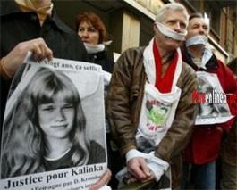 André Bamberski y la foto de su hija Kalinka
