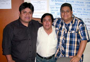 Martin Mora, Victor Yáipen y William Enrique