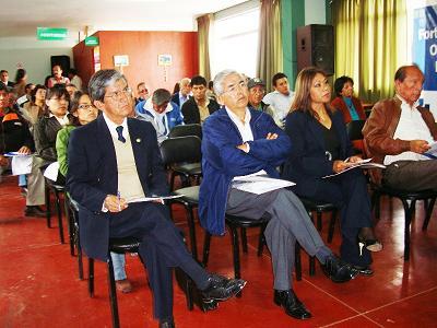 Autoridades de la provincia de Barranca