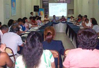 Reunión de fortalecimiento MCLCP de Huaura