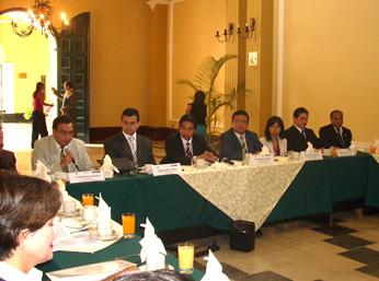 Viceministro de Justicia participó en taller de trabajo que permitirá conocer la percepción de expertos en la materia.