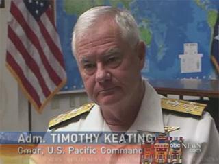Almirante Timothy Keating