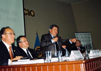 César Acuña, presidente de la AMPE, tendrá a su cargo el acto de inauguración.
