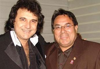 Los  Iracundos de Uruguay y el alcalde de Breña.