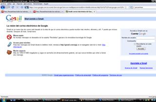 Gmail quedo bloqueado por tres horas