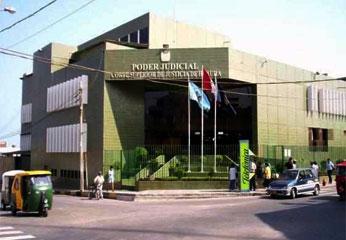 Corte Superior de Justicia de  Huara.