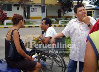 Claudia Portocarrero Alfondo Nizama y Dilberth Aguilar.