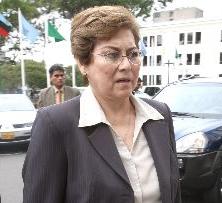 Fiscal de la Nación Dra. Gladys Echaiz