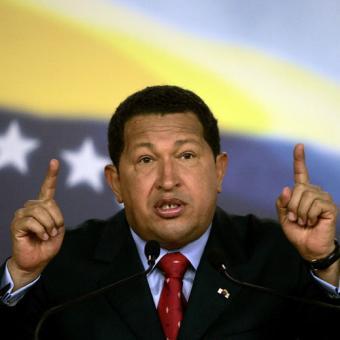 Presidente de Venezuela Hugo Chavez