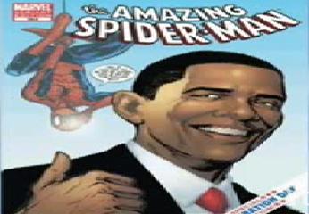 El Presidente estadounidense confesó  que Spiderman y Superman, son su héroe de cómic favorito.