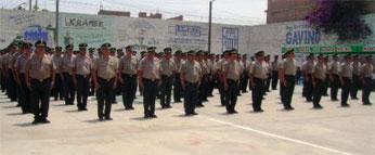 Policia Nacional del Perú.