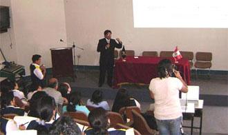 Exposición del Director General de a DIRESA