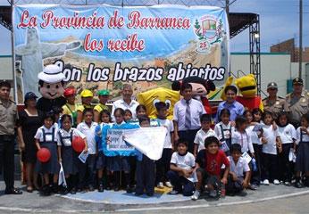 Actividad  realizado por la Municipalidad de Barranca.