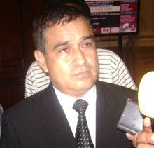 Fredy Otárola Peñaranda, vocero de la Bancada Nacionalista.