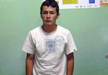 Sujeto Romel Roque fue capturado con mas 100 litros de ácido clorhídrico