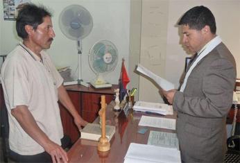 Juez de Jucul, Héctor Salas