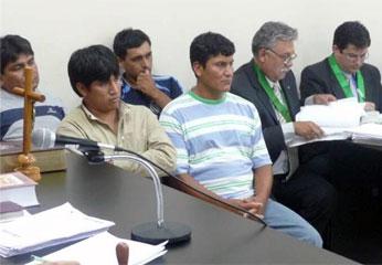 Estaban implicados en robo de más de 100 sacos de maíz, en Huaura.