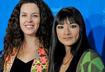 Claudia Llosa y Magaly Solier
