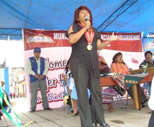Alcaldesa de Huarochiri