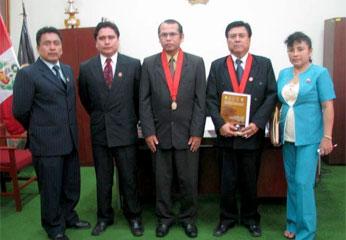 Visita de Magistrados a Corte de Huaura