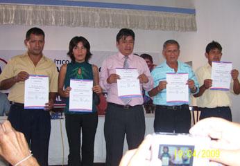 Alianza para el Progreso juramento en Huaral
