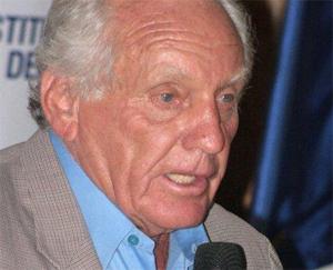 El presidente del Instituto Peruano del Deporte (IPD), Arturo Woodman