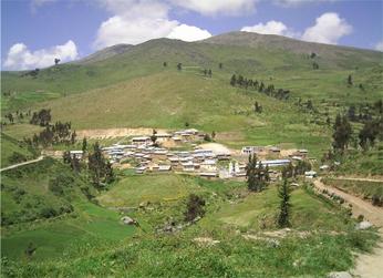 Distrito de Azángaro en Yauyos
