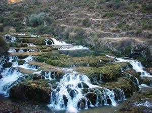Cataratas de Huancaya en la provincia de Yauyos
