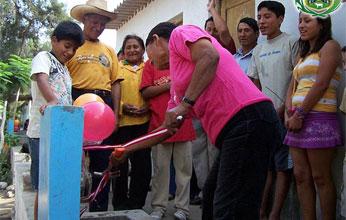 C.P. San Lorenzo Mejoramiento Concexiones Agua.