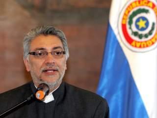 Fernando Lugo, ex obispo, hoy presidente de Paraguay.