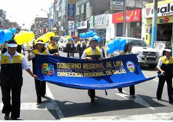 Personal la Dirección Regional de Salud – Lima