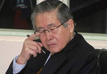 Alberto Fujimori ex presidente del Perú.
