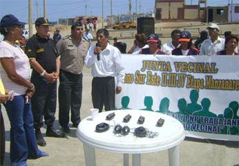 Comunicadores radiales para Junta Vecinales.