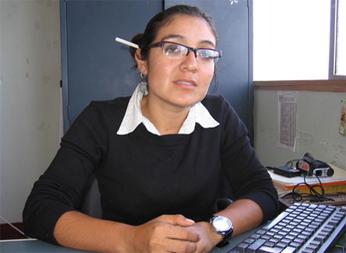 Lic. Carmen Vassallo Reyes  Foto:Radio Fortaleza de Barranca