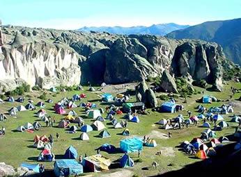 Marcahuasi en la provincia de Huarochiri