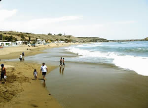 Playa Chorrillos en la Provincia de Barranca