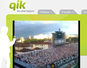 Qik te permite compartir tus momentos en vivo con tus amigos, familia y el mundo-desde su teléfono móvil.
