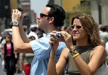 Turistas en Semana Santa
