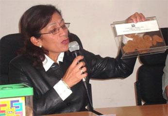 Bióloga Rosario Alcántara Medrano