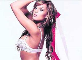 Danielle Lloyd, ex Miss Gran Bretaña