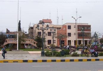 PLaza de Huaura