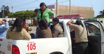 Algunos militantes fueron detenidos por llevarse ánforas y cédulas de votación.
