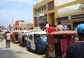 Se ha realizado la inspección visual en 12 empresas de transporte de mototaxi.