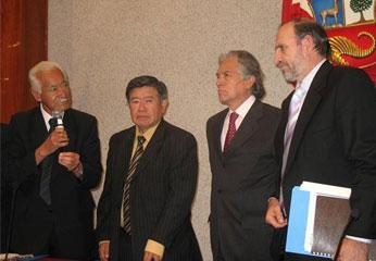 Presidentes Regionales y Premier.