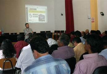 El evento fue en el auditorio la Casa de la Cultura de la ciudad de Huacho.