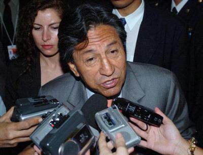 Ex presidente del Perú, Alejandro Toledo.