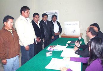 Cinco alcaldes distritales elegidos.