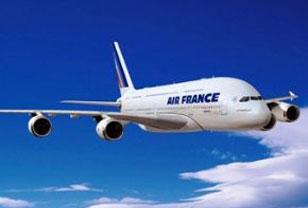 Nave de la empresa Air France.
