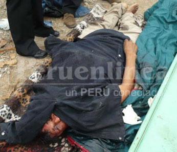 El chofer Ignacio Pando murió instantáneamente