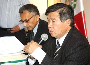 Presidente Regional Nelson Chui